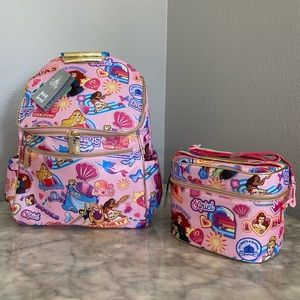 Disney princess backpack & lunch tote